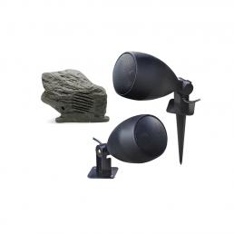 altavoces de jardin y exterior para aplicaciones de audio y megafonía