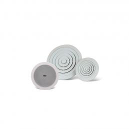 Gama de altavoces de techo y plafones para aplicaciones de audio y megafonía ceiling speakers public address audio