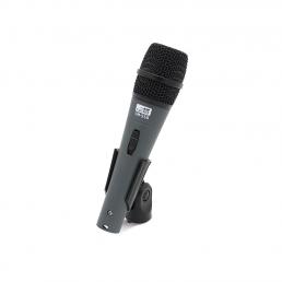 micrófono de mano handheld microphone for audio and public address megafonía PA