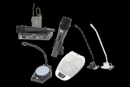 Gama de micrófonos y pupitres UDE para aplicaciones de audio y megafonía