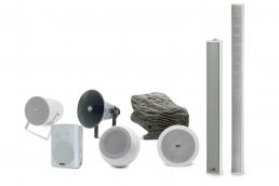 gama de altavoces UDE para aplicaciones de audio y megafonía speakers loudspeakers for audio and public address systems