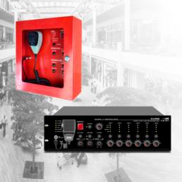 Sistema de evacuación por voz EN54